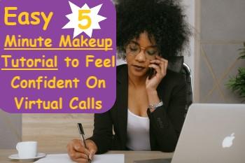 Easy 5 Minute Makeup Tutorial