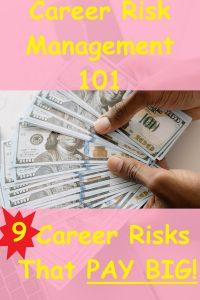 two hands hold fanned 100 dollar bills Career Risk Management 101: 9 Career Risks That PAY BIG!